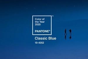 Классический синий — цвет 2020 года по версии Pantone