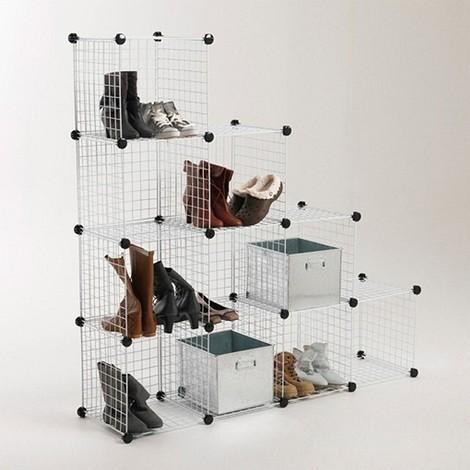 Комплект из 10 ящиков для обуви