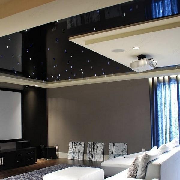 Пленочный потолок с имитацией &...