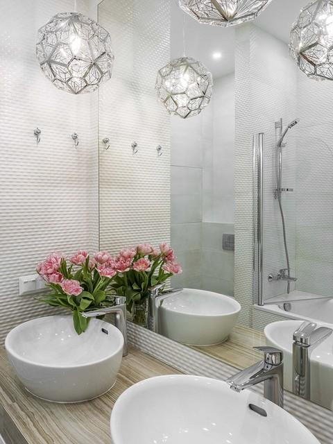 Столешница в ванной не деревян&...