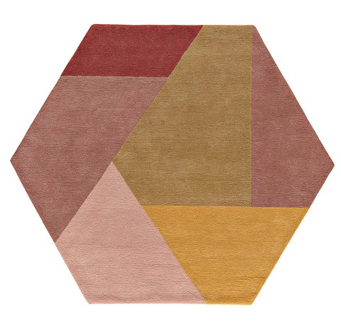 Ковёр Hexa с абстрактным геометри ...