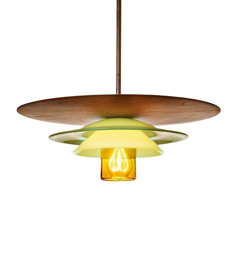 Подвесной светильник Lotus Dine c элеме&#10...