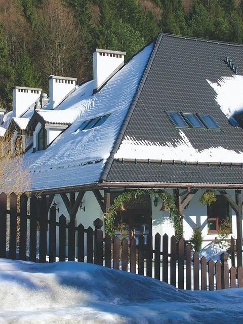 Установка снегозадержателей ...