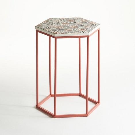 Столик с керамической столешницей