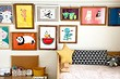 15 идей, как организовать выставку поделок и рисунков в детской комнате