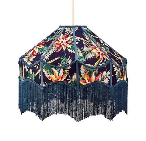 Подвесной абажур из текстиля с...