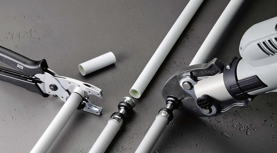 Трубы Viega, серии Smartpress (фитингииз нер&#107...