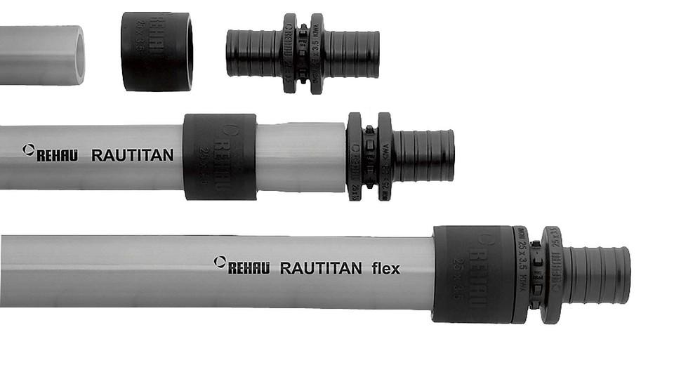 Универсальная труба RAUTITAN Flex (Rehau) для от&...