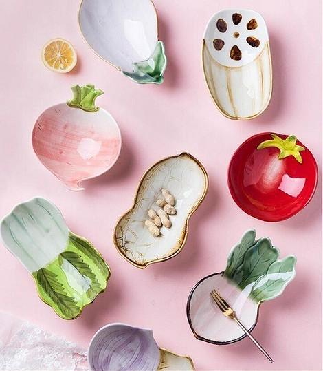 Миски в виде овощей