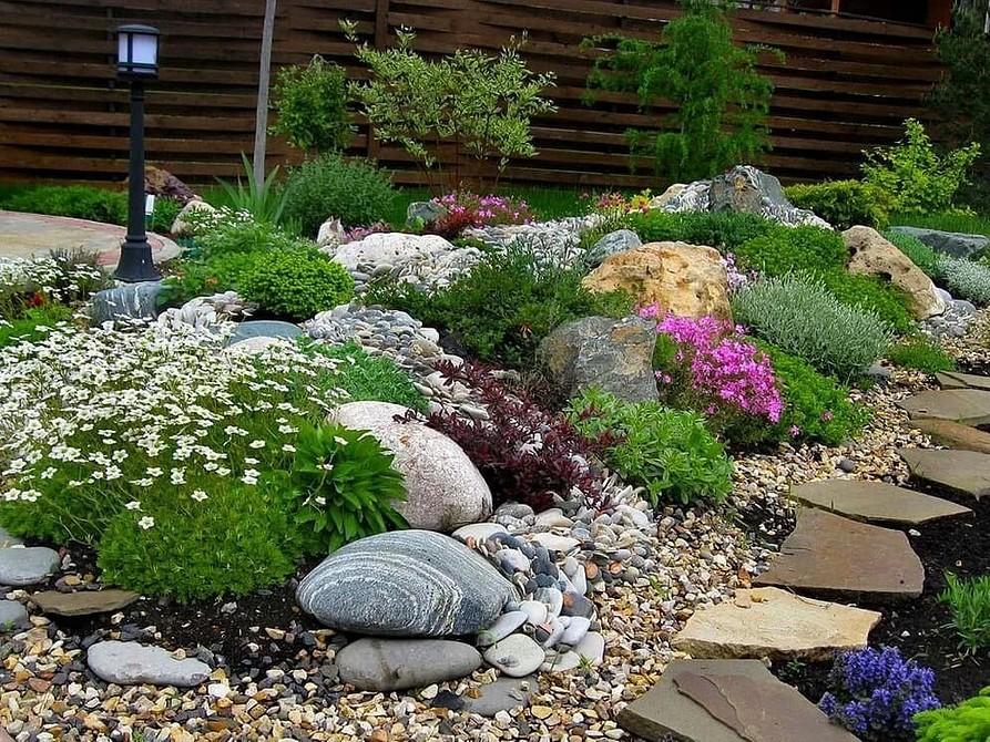 Дизайн участка загородного дома: 50 фото идей, как облагородить и озеленить своими руками