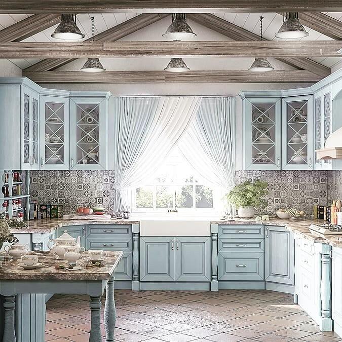 связи этим прованский стиль на кухне фото можете обнаружить