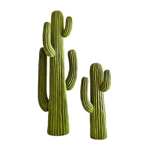Фигурки кактусов из пластмасс&#...