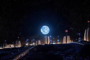 Неземная архитектура: как будет выглядеть первая жилая деревня на Луне