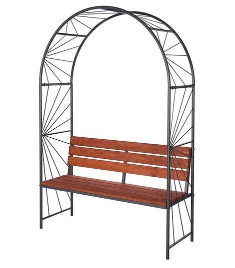 Скамья садовая «Афродита с аркой», «Удачная мебель»