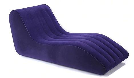 Надувное кресло-шезлонг