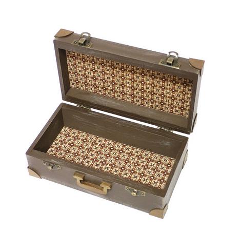 Шкатулка «Старый чемодан»