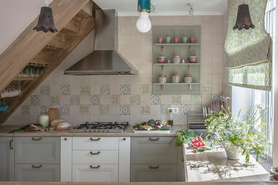 Кухонный фартук в зоне пригото&...