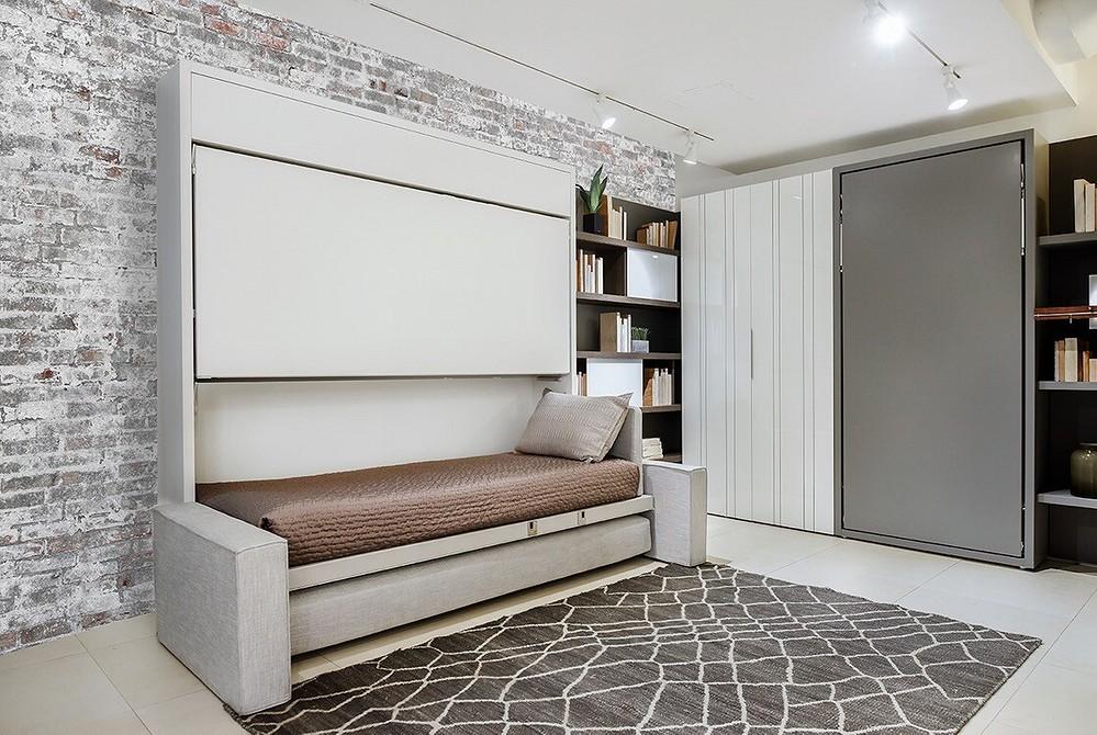 кровати встраиваемые в стену фото новые материалы отделки