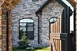 Как монтировать искусственный фасадный камень на бетонные, кирпичные и утеплённые стены