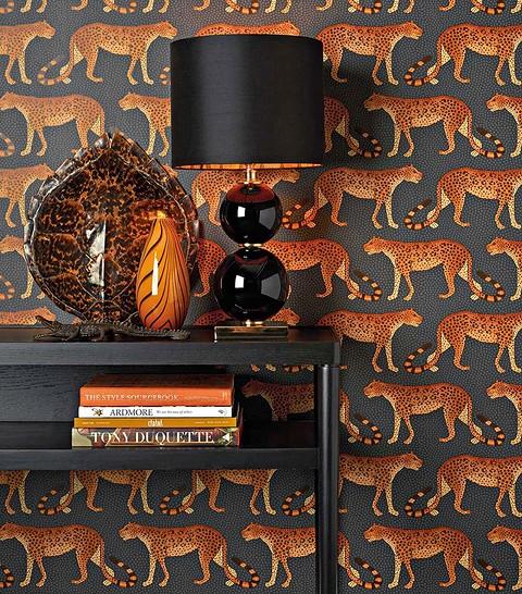 Обои Leopard Walkиз коллекции Ardmore, на флизе&#...