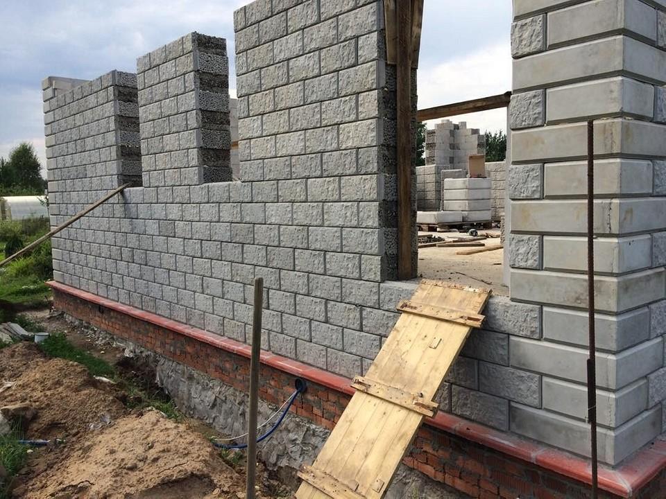 Дом керамзитобетон и кирпич фейри в бетон