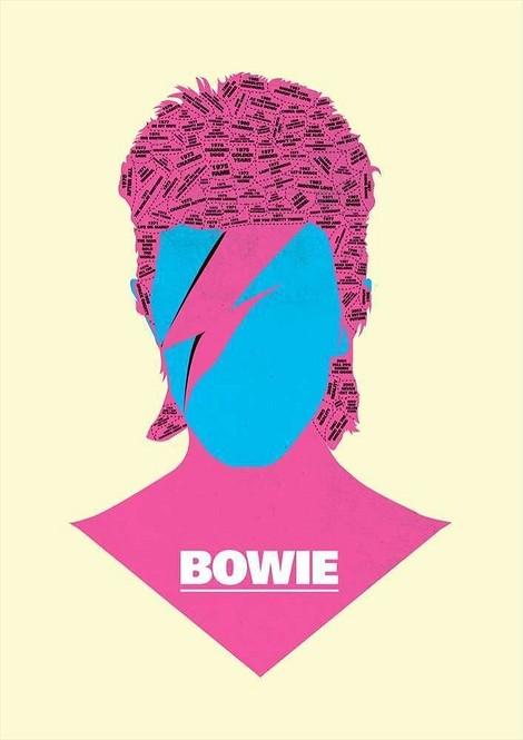 Принт Bowie А4