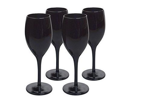 Бокал стеклянный Midnight Wine Black