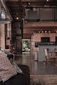 От выбора отделки до декора: оформляем гостиную с кухней в стиле лофт