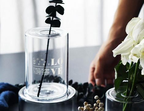 Стеклянная ваза Nordic Style