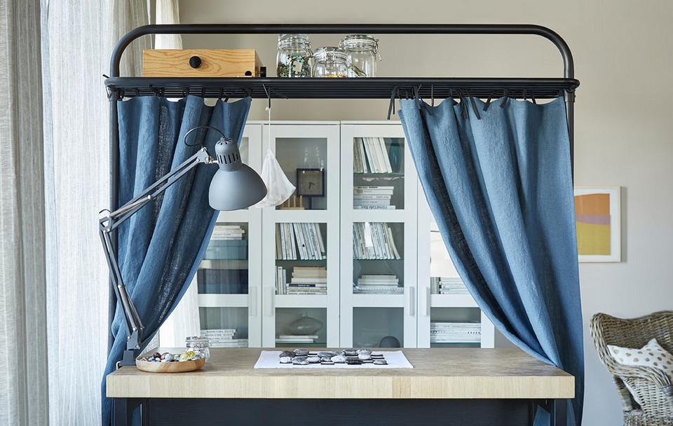 Оригинальное использование штор в интерьере: 9 свежих идей