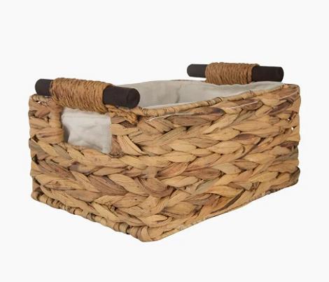 Плетеная коробка