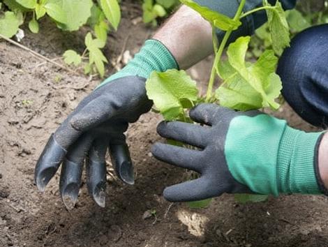Нейлоновые садовые перчатки