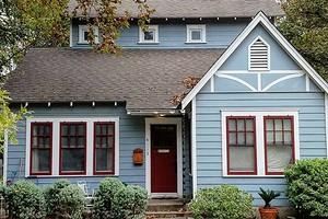 В какой цвет покрасить дом снаружи, чтобы было красиво и практично