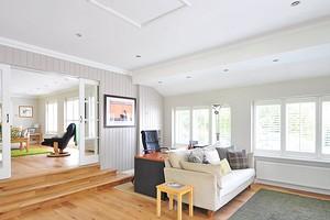 Дизайн подвесного потолка в гостиной: 5 видов материалов и идеи по оформлению