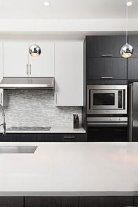 Дизайн черно-белой кухни: 80 контрастных и очень стильных идей