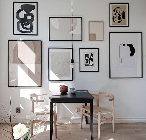 Абстрактные постеры со схожим&#...