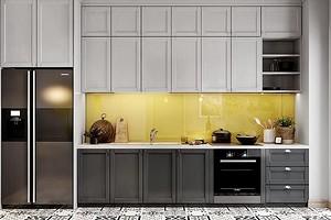 Комбинированные кухни: как сочетать светлый верх и темный низ