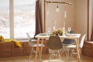 Интерьер кухни в бежевых тонах (113 фото)