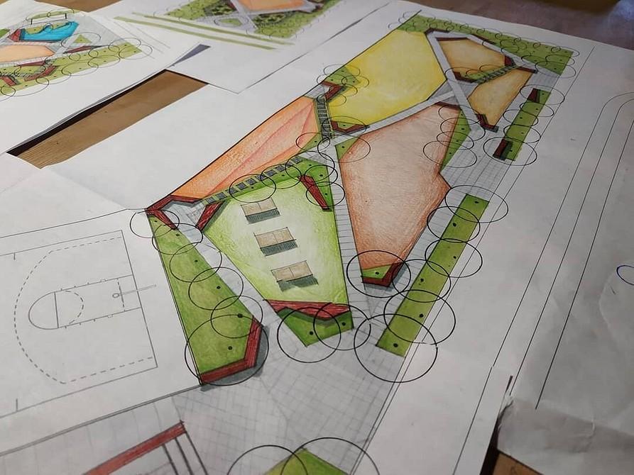 Как распланировать участок 10 соток: схема планировки и много фото
