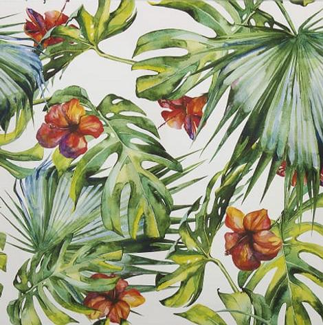 Картина на холсте «Принт тропики»