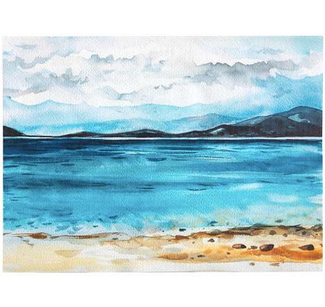 Картина на холсте «Озеро»
