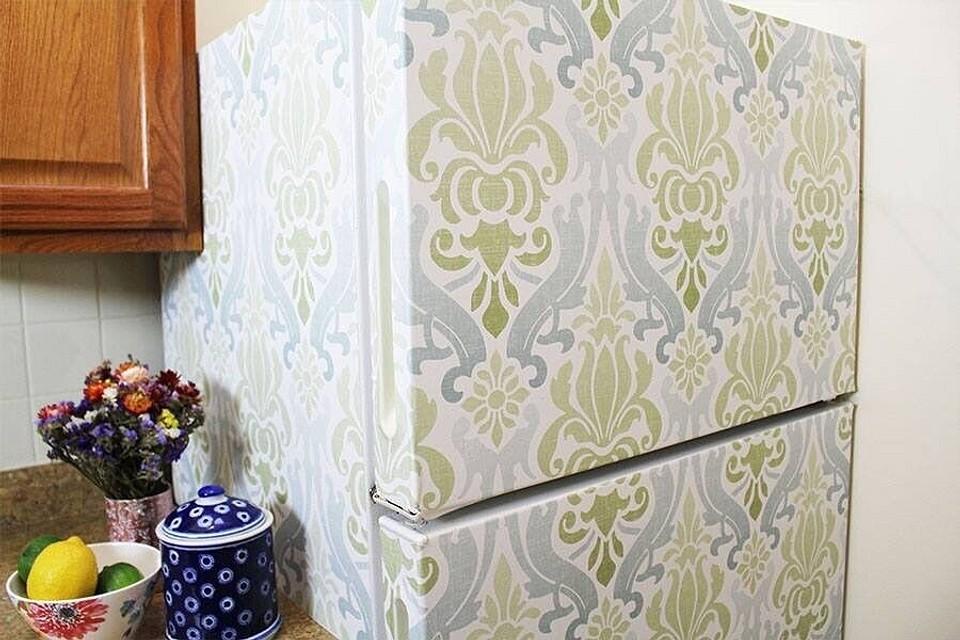 Обновляем старый холодильник: 10 неожиданных идей