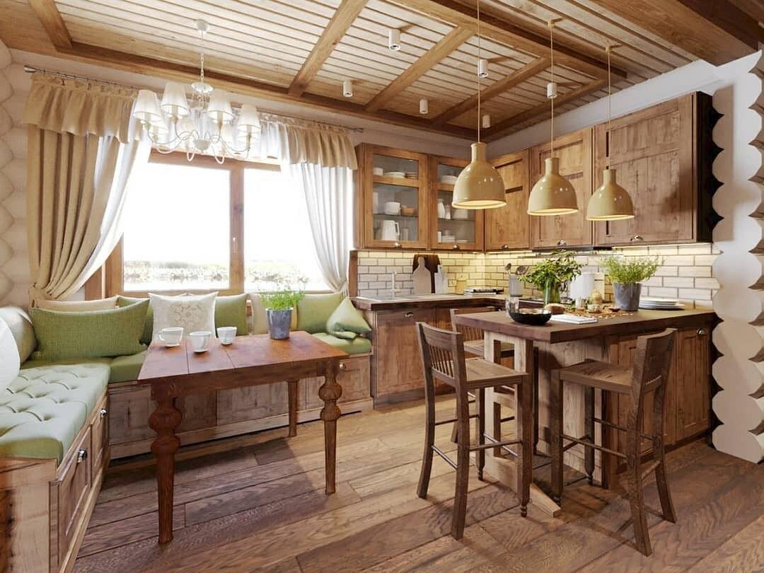 дачная кухня столовая фото гороскопа интересно