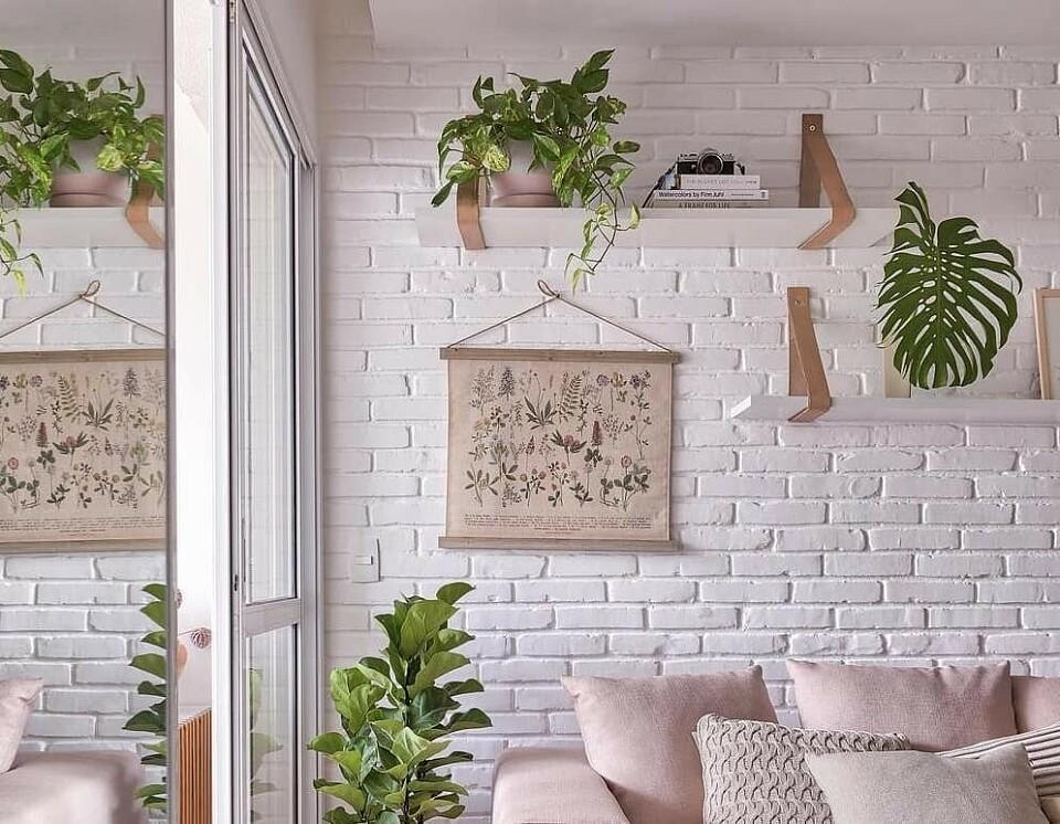 3 способа сделать имитацию кирпичной стены своими руками