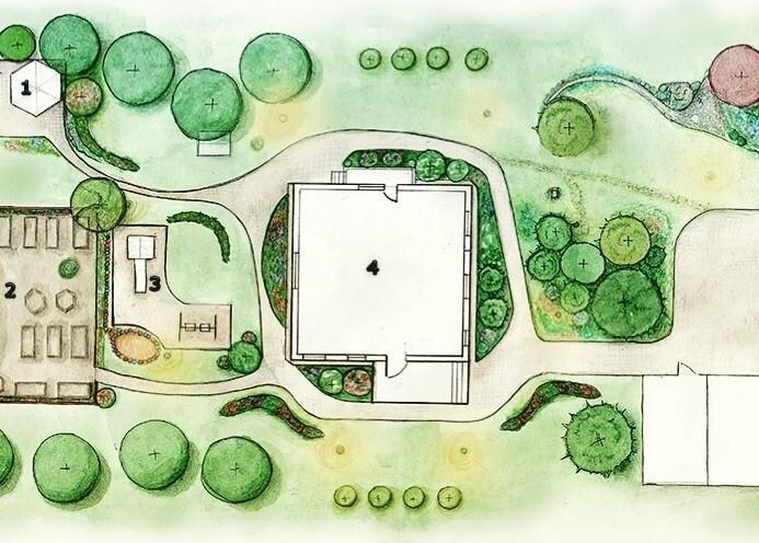 Планировка участка 2 соток: схема и варианты размещения построек