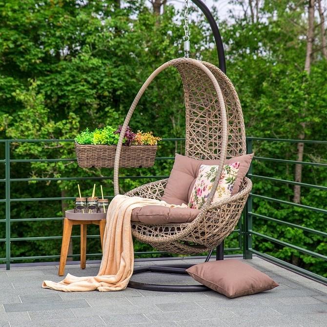 7 способов оформить зону для отдыха на очень маленьком участке