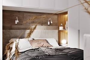 Дизайн маленькой спальни 12 кв.м: 3 варианта планировки и 65 фото