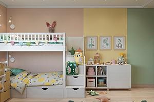 Каким цветом покрасить стены в детской комнате: креативные варианты и советы по выбору краски