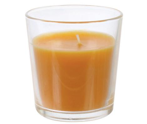 Свеча с ароматом персика