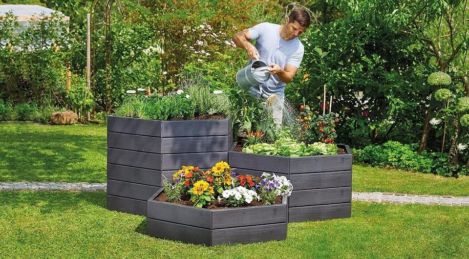 Делаем высокие грядки на даче: подходящие материалы и простая инструкция